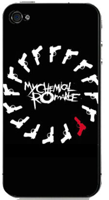 My Chemical Romance Cover Case for iPhone 4S 5 5S 5C 6 6S Touch Plus Samsung Galaxy S3 S4 S5 Mini S6 Edge A3 A5 A7 Note 2 3 4 5(China (Mainland))