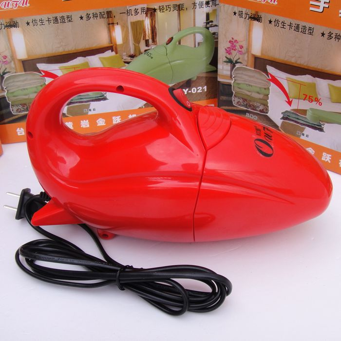 Vacuum compressed bags electric air pump electric pump multifunctional vacuum cleaner red and green