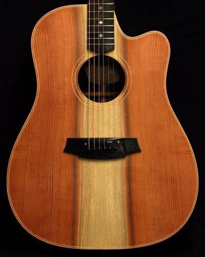 New! Cole Clark FL2EC-RDRW Redwood Top Acoustic Electric Guitar w/ HSC(China (Mainland))