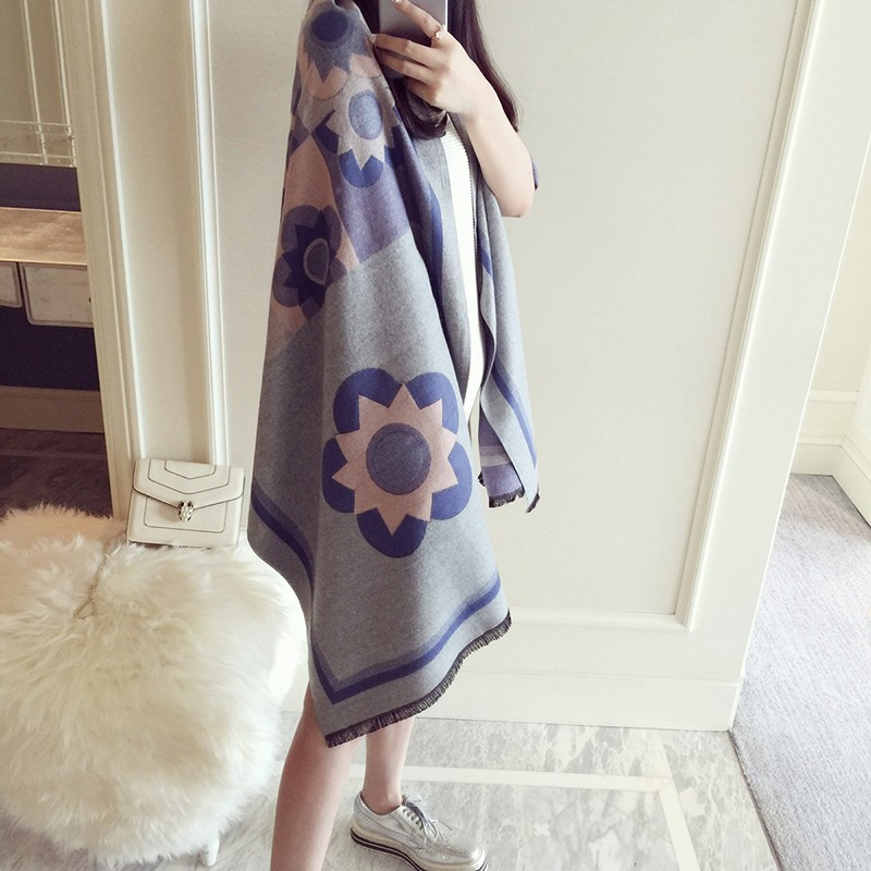 Forwell Scarf for Women High Quality Printing Scarves Big Scarf Cozy Blanket Oversized Wrap Shawl Dress Winter Scarves Poncho