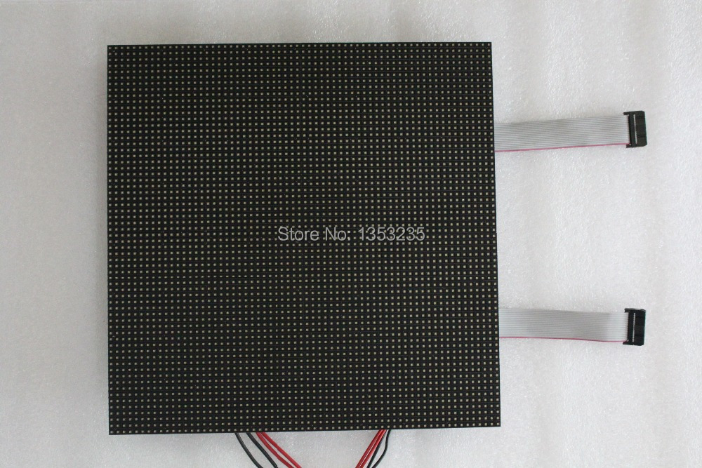 Good P4 SMD LED Display Module 4mm Pixel Indoor RGB Full Color LED Display Screen 1/16 Scan 128*128mm 32*32 P4 Full Color Panel(China (Mainland))