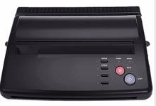 Бесплатные DHL и EMS низкая цена A4 копировальную бумагу черный татуировки копир тепловые трафарет копировать передачи машины