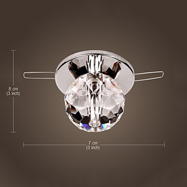 K9 Crystal Ball LED Modern ceiling Light Lamp Lustre Flush Mount Free Shipping(China (Mainland))