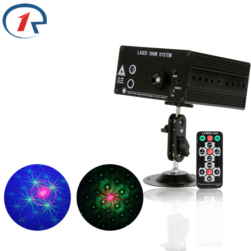 ZjRight NEW Arrival RG Laser projector 48 patterns blue led Club Party Bar DJ light Dance Disco party Stage Lights show system(China (Mainland))