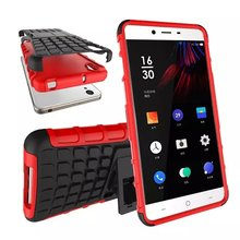 100pcs/lot.Heavy Duty Strong PC+silicone shockproof Case Cover with stand for OnePlus X (1+X),free shipping by DHL