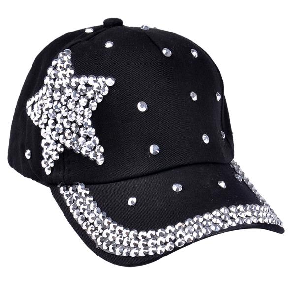 5 candy color Unisex cap hats Rhinestone baseball cap Casual Outdoor sports snapback hats cap for men women(China (Mainland))