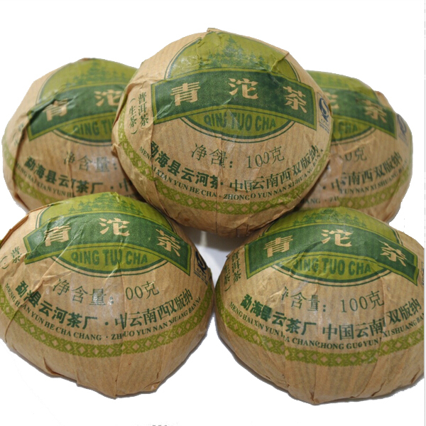 New Arrival 2012yr Pu er tea health tea winter tea puer tuocha 100g High Quality Raw Puer tea(China (Mainland))