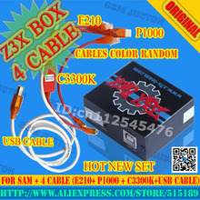 Newest Original Z3X Box for Samsung flash&unlock& repair with 4 cables set  for c3300k/P1000/USB/E210 for new update S5,Note4(China (Mainland))