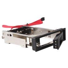 "CAA-Hot 3.5"" SATA HDD-Rom Hard Drive Disk Aulminum Mobile Rack(China (Mainland))"