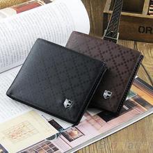 Fashion Men s Leather Wallet Pockets Card Clutch Cente Bifold Purse New 2 Colors 1T16
