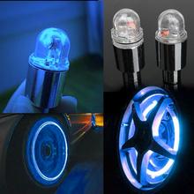 Buy 1 Pair Cycling Bike Wheel Spokes Lights Bicycle Neon LED Wheel Spoke Valve Cap Alarm Wheel Lights Bicycle Wheel Led Blue Lights for $2.04 in AliExpress store