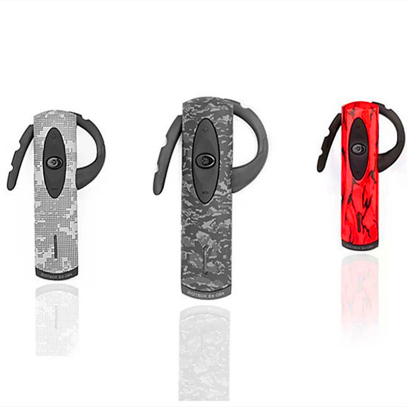 Brand EX02 Stereo Bluetooth Video Games Headset with Black/Red/Desert Camouflage Faceplates for Sony Play Station 3 / PS3(China (Mainland))