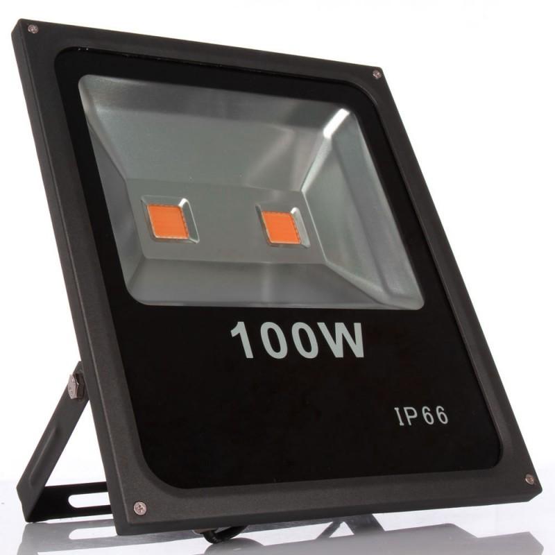 100W-Vollspektrum 380nm-840nm LED-Pflanzenleuchte Fluter growlight-spot
