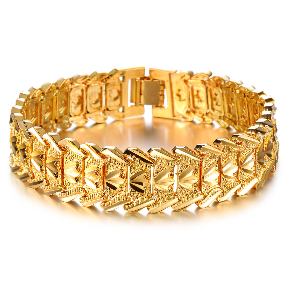 Fashion accessories male gold bracelet personalized gift 16.5mm bracelet n401(China (Mainland))