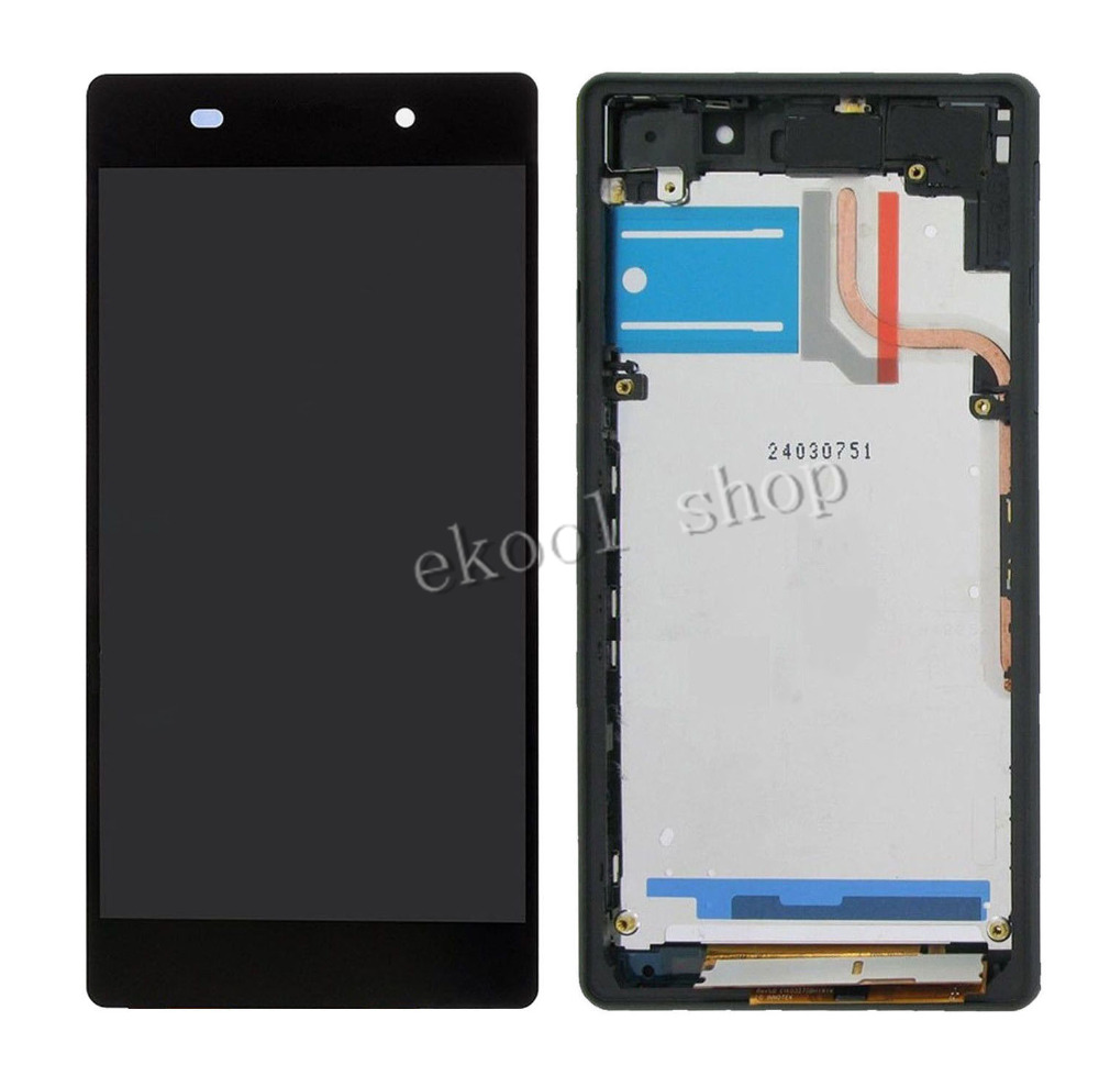 100% Test Black LCD Display Screen For Sony Xperia Z2 ...