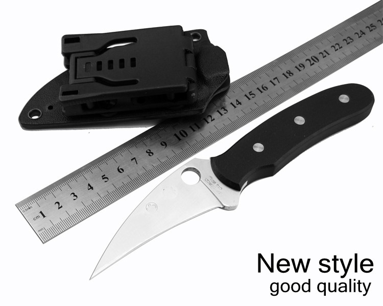 Buy Free shipping FB34 knife 5CR15 Blade material G10 handle external tools Piedmont camping knife survival knife tactical knife cheap