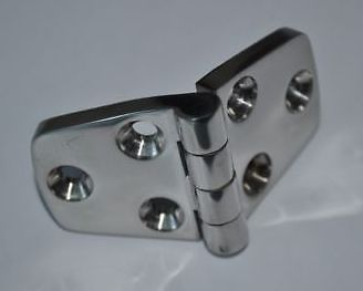 """Details about AISI 316 Marine Grade Stainless Steel Boat Cabin Door Hinge Type 3"""" (Pair)(China (Mainland))"""