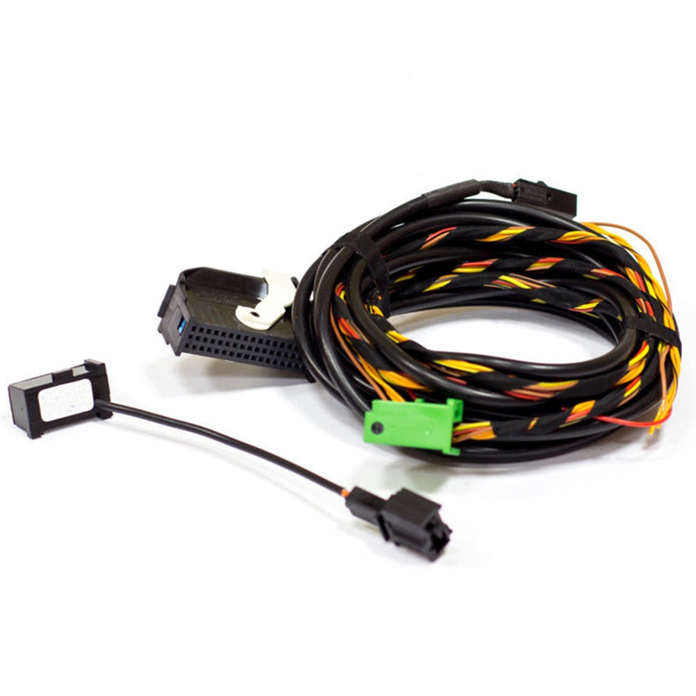 BT Bluetooth Microphone+Plug Wiring Harness Cables 9W2 9W7 For VW RCD510 RNS510 VW Passat B6 B7 Golf Jetta Touran Eos Scirocco(China (Mainland))