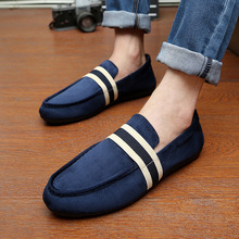 spring autumn new fashion men shoes casual breathable flats adult male loafers sneakers driving shoes 7733