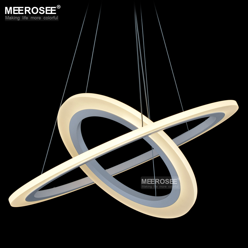 Aliexpress Buy 2 Rings LED Pendant Light Fixture
