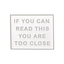 Introverso Solitario Perdente Club Dello Smalto Spilli Autismo Distintivi e Simboli Custom Spille Gatto Sacchetto di Vestiti del Risvolto Spille Punk Nero Bianco del Regalo Dei Monili(China)