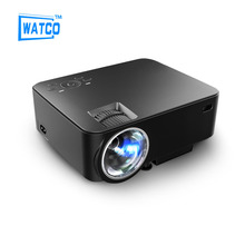 New 2016 LED Mini Video LCD 1080P 3D Home Theater Projector Full HD Proyector Support HDMI VGA AV SD USB