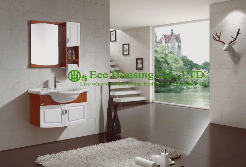 bathroom cabinet best selling european modern furniture wall hung new waves waterproof bathroom vanity(China (Mainland))