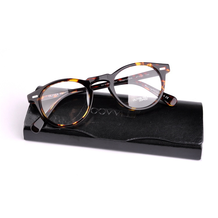 Фотография 2016 Famous Brand Oliver Peoples Retro Vintage Mens Women Optical Reading Eyeglasses for Men Women Glasses Eyewear SHELDRAKE RX