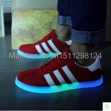 Luminous shoes light neon kilen led lovers casual skateboarding usb charge - shoes-2015 store
