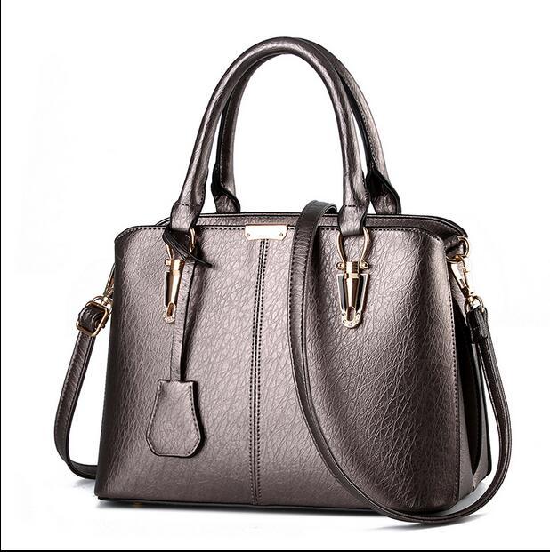 2016 The most popular Women PU Leather Handbag Women ...