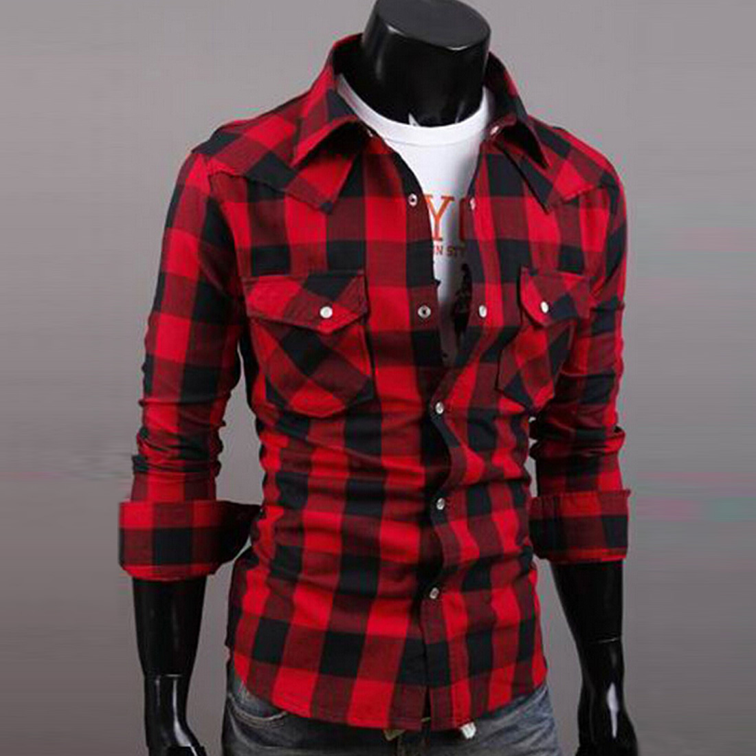 Red And Black Shirt | Is Shirt