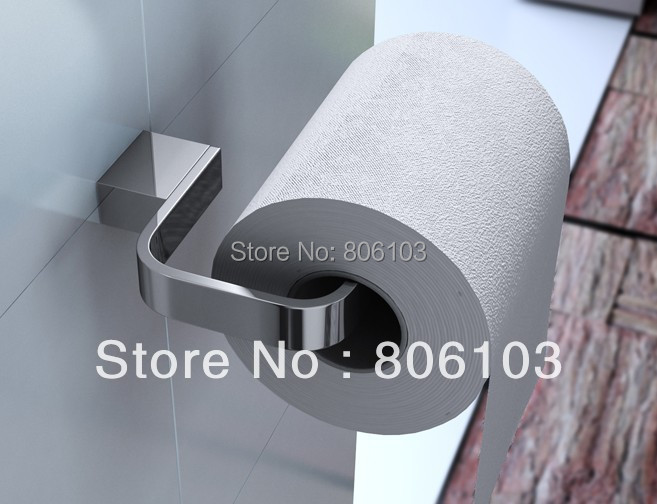 Bathroom Accessories Bath Towel Ring Toilet Paper Holder - Cover GREEN HILL store
