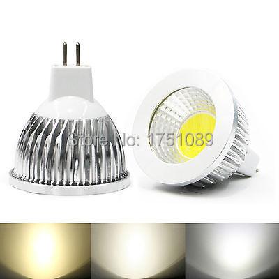 Dimmer High Power COB MR16 12V LED Light Bulb 9W 12w 15w COB LED Spot Light Bulb Lamp White/Warm White Bulb lamp(China (Mainland))