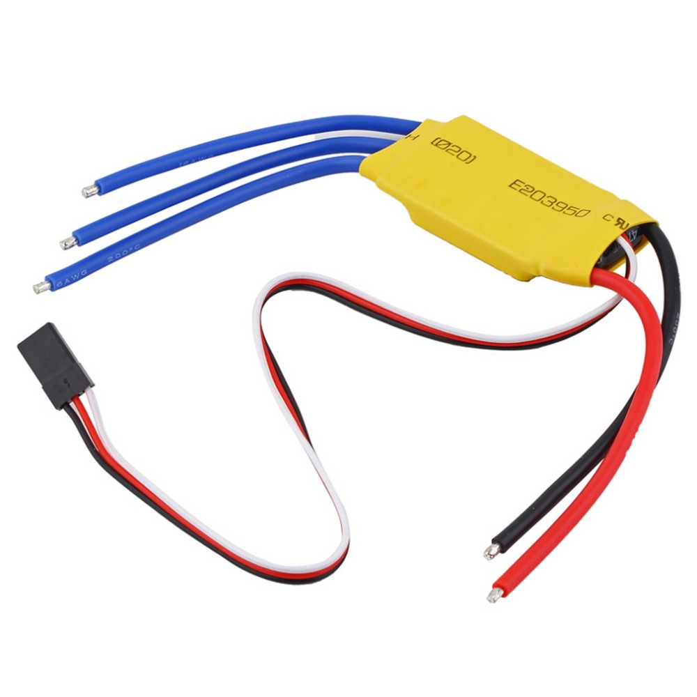 30A Brushless Motor Speed Controller RC BEC ESC T-rex 450 V2 Helicopter Boat i403(China (Mainland))