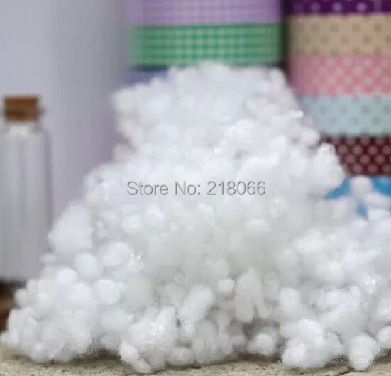 DIY handmade patchwork fabric accessories EPE / filled with cotton / synthetic cotton doll / pp cotton 50g(China (Mainland))