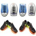 Novelty Unisex Women Men No Tie Shoelaces Elastic Silicone Shoe Lace All Sneakers Fit Strap Athletic