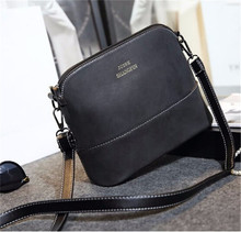 2015 Fashion women handbags over the shoulder spring nubuck leather valentine bags lady female purse women messenger bag HB878K
