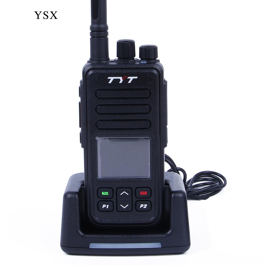 TYT MD-446 Walkie Talkie Digital Mobile Radio (DMR) UHF 5W 7.4V VOX Clock TDMA Two Way Radio cb Radio Comunicador yaesu telsiz(China (Mainland))