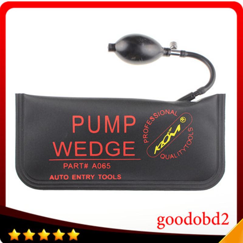 2016 KLOM Black PUMP WEDGE LOCKSMITH TOOLS Auto Air Wedge Lock Pick Open Car Door Lock Big Size 28*12 CM(China (Mainland))