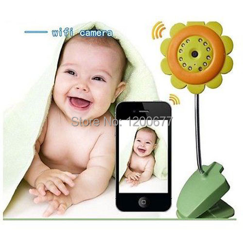 Baby monitor hd night vision wireless wifi webcam monitor camera