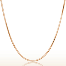 Hot 1.5MM 925 Silver Rose Gold Plating Snake Chains 18 Inches With Round Lobster Clasps High Quality Fashion For Pendant(China (Mainland))