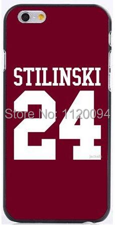 Cool Design Teen Wolf STILINSKI 24 hard plastic phone cases iphone 6 case 6plus 5 5s 5c 4s+freeshipping