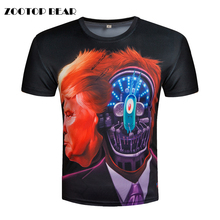 Buy President t-shirt Donald Trump T shirt 3D Printed Tshirt Funny Top Tees Campaign Election Candidate T-shirts 2017 ZOOTOP BEAR for $7.34 in AliExpress store