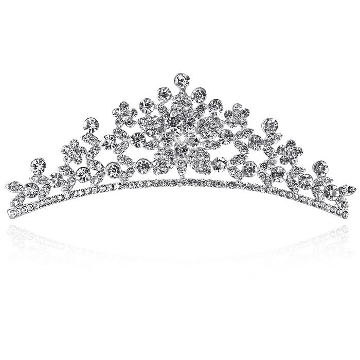 tiara noiva crown wedding crown bride crown 2015 Freeshipping Romantic New Bridal Hair Accessories Quality Luxury Crystal(China (Mainland))