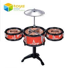 Kids Classical Jazz Drum Set Percussion Instrument Musical Toy Puzzle Early Educational Toys for Children JUGUETES Best Gifts(China (Mainland))