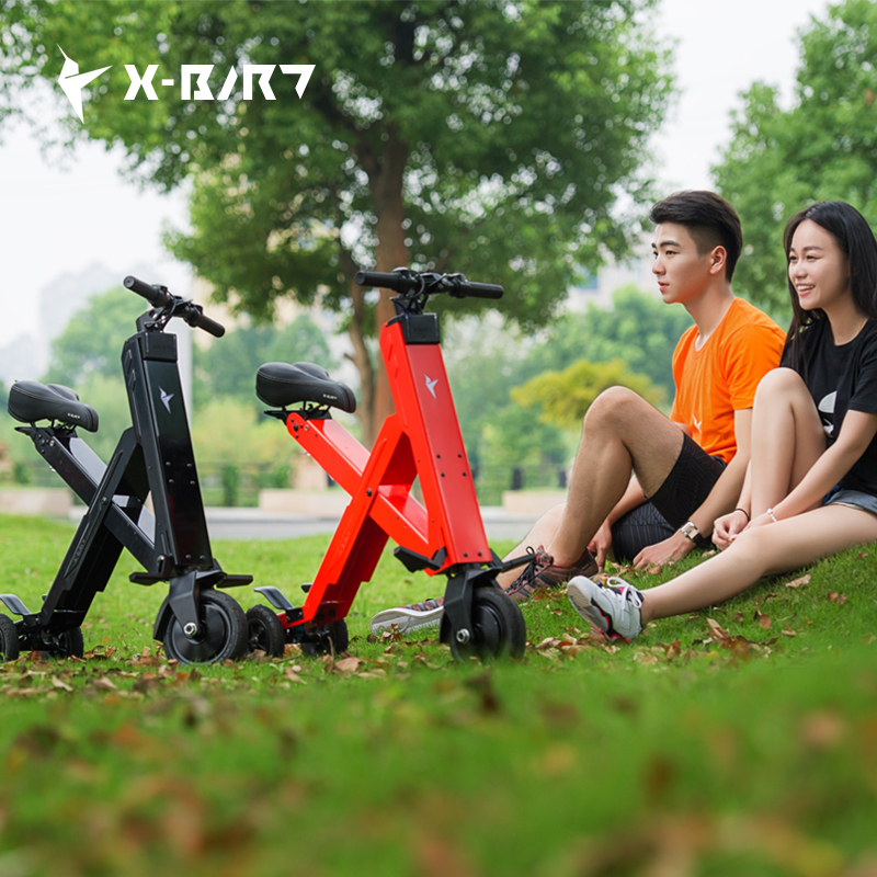 2015 X-Bird X1 Foldable Electric Scooter Portable Mobility Scooter Adults electric bicycle lithium battery Bike(China (Mainland))