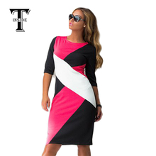 Fast ship 2015 New Arrivals black dress confection dress with long sleeve autumn winter women MLXLXXLXXXL4XL CH323
