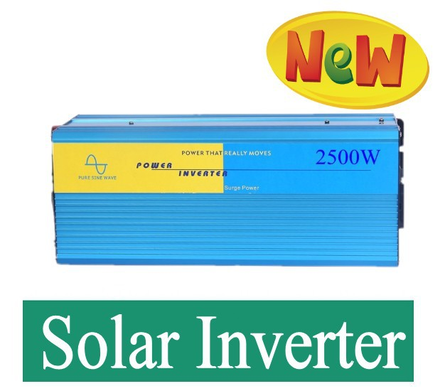 Car Power Inverter 2500W DC 12V AC 220V Pure Sine Wave Car Converter 2500Watt Off Grid Solar Power Inverter<br><br>Aliexpress