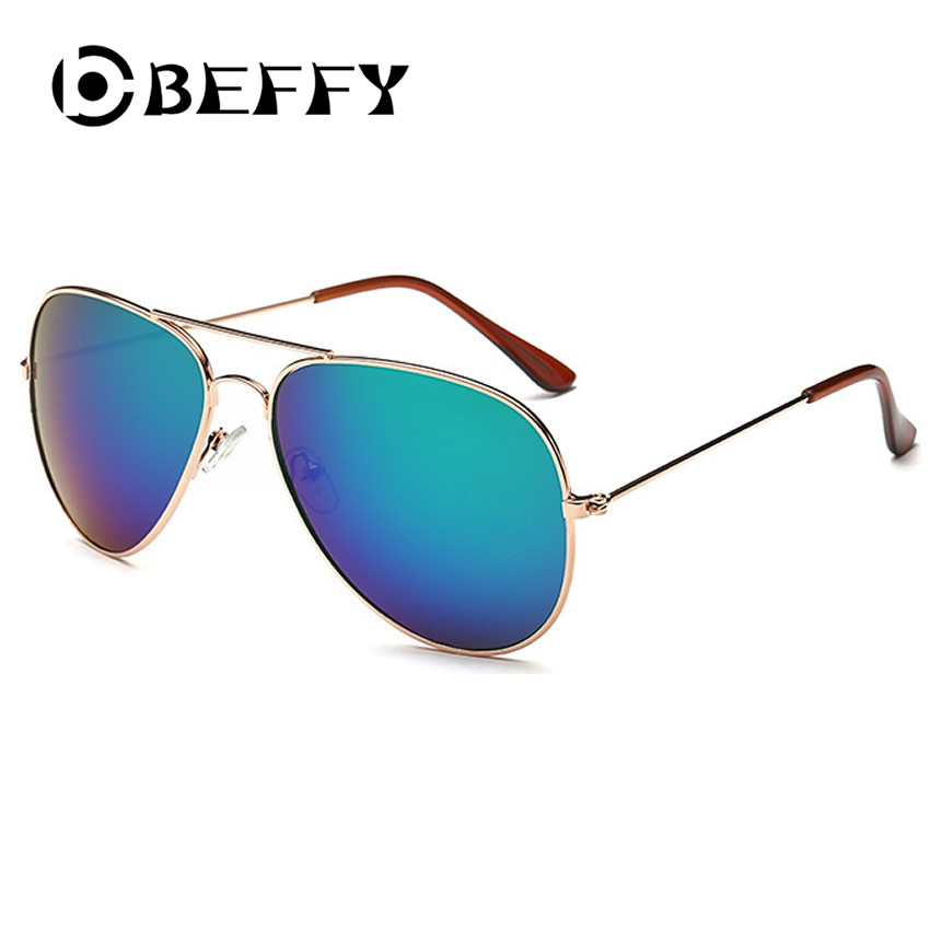 BEFFY Classic Aviation Men Sunglasses Fashion Coating Mirror UV400 Women Sun Glasses Vintage Fishing Driving Gafas Oculos De Sol(China (Mainland))