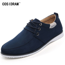 New 2015 Autumn Men Shoes Casual Male Footwear For Men Suede Leather Flat Men's Fashion Zapatos Hombre BRM-132(China (Mainland))